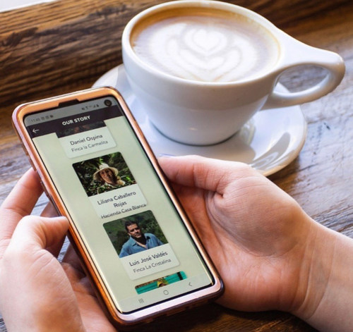 iFinca mobile app - connecting consumers to producers.