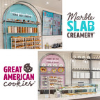 Great American Cookies® And Marble Slab Creamery® Introduce New Brand Visions And Store Designs