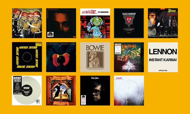 With nearly 400 titles, the series of drops from eBay and Record Store Day will offer records for every music taste.