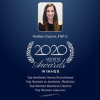 Shelley Clayton, MSN, FNP-BC of Ageless Aesthetics wins Top Aesthetic Nurse Practitioner, Top Women in Aesthetic Medicine and more in the Aesthetic Everything® 2020 Aesthetic and Cosmetic Medicine Awards