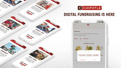 Through its first-ever digital fundraising program, Chipotle will support students by donating 33% of fundraiser event sales back to local educational organizations using unique promotional codes.