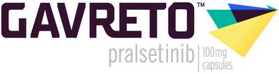 GAVRETO™ (pralsetinib) logo