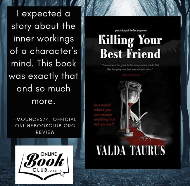 Sociologist and Author Valda Taurus Debuts Gripping Suspense Novel That Explores the Depths of Human Behavior: 'Killing Your Best Friend'