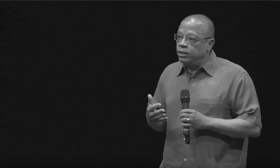 """As executive producer and legal authority, Jeffery Robinson provides surprising insights on the history of racism for the 6-episode """"Who We Are"""" podcast. Robinson is a deputy legal director of the ACLU. He spent nine years researching his multi-media """"Who We Are"""" presentation, which will soon also be released as a documentary."""
