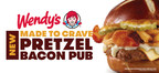 Wendy's Introduces Unforgettable, Flavor-Packed Pretzel Bacon Pub Cheeseburger