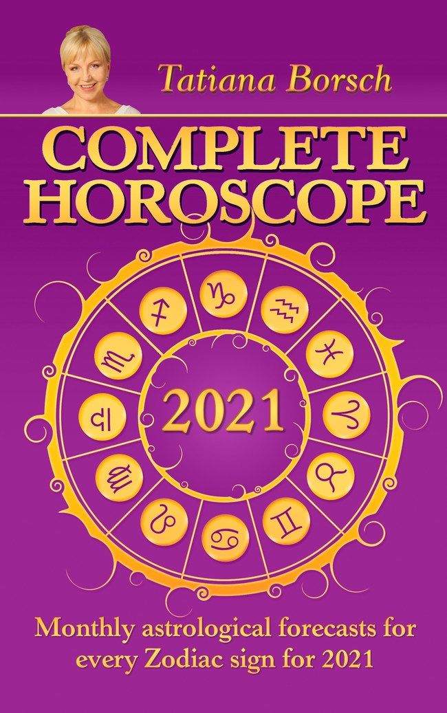 Astrologer Tatiana Borsch launches Complete Horoscope 2021: Monthly Astrological Forecasts for Every Zodiac Sign for 2021. Since 1992, she has been writing the annual