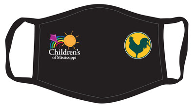 Custom Face Mask with Sanderson Farms Championship and Children's of Mississippi Logos