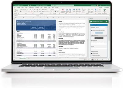 ¡Arria lleva la potencia del lenguaje a la herramienta de analítica de negocios más ampliamente adoptada! Arria for Excel le ofrece la capacidad de narrar en forma instantánea hojas de cálculo de Excel, exportar con facilidad y directamente a Word o PowerPoint, disfrutar de una automatización oportuna de los reportes financieros y mucho más. (PRNewsfoto/Arria NLG)