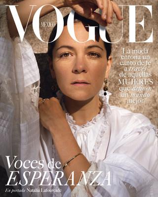 Vogue México presenta la icónica edición de septiembre con tres portadas, homenajeando a las mujeres cuyas trayectorias reflejan fortaleza y sus voces esperanza. Estas portadas se unen a la sinergia global #VogueHope.