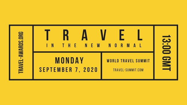 World Travel Summit 2020 | September 7th, 2020