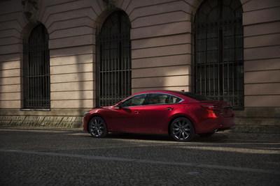 El Mazda6 2021: sobresale entre los de su clase (PRNewsfoto/Mazda North American Operations)