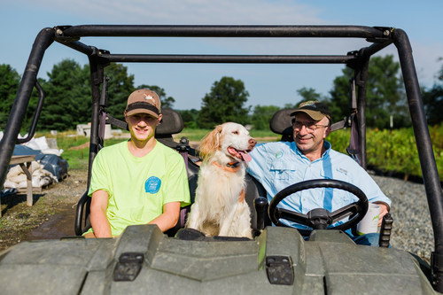 Owner, Scott McGill with Co-Pilots, Goose and Ben Horcher