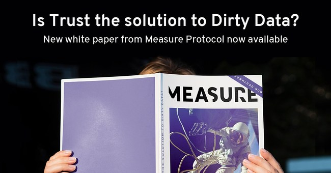 """Is trust the solution to dirty data?"""