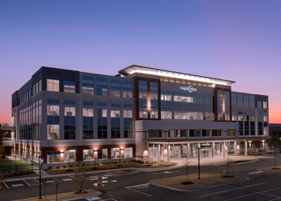 Campbell Clinic's new, four-story, 120,000-square-foot Orthopedic Surgery Center at 7887 Wolf River Blvd. in Germantown.