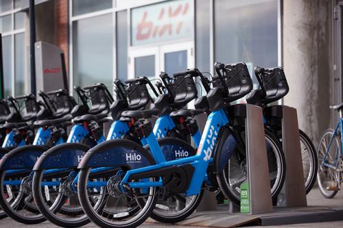 Electric BIXI bikes (CNW Group/BIXI Montréal)