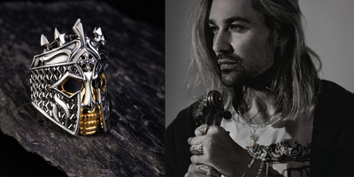 David Garrett is the global face of Rebel at heart and will showcase the collection for the coming year