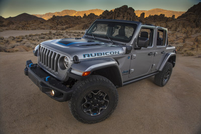 New Jeep Wrangler 4xe Joins Renegade And Compass 4xe Models In Brand S Global Electric Vehicle Lineup