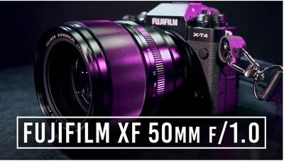 Fujifilm XF 50mm F1.0 Lens