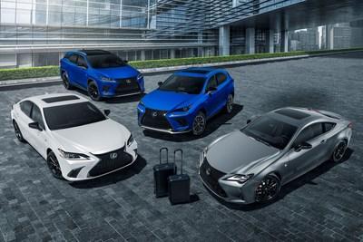 Familia Black Line de Lexus
