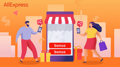 AliExpress Bonus Buddies allows users to earn rewards for their next purchase through social sharing and gifting, empowering shoppers to connect with their friends and family in this time of social distance.