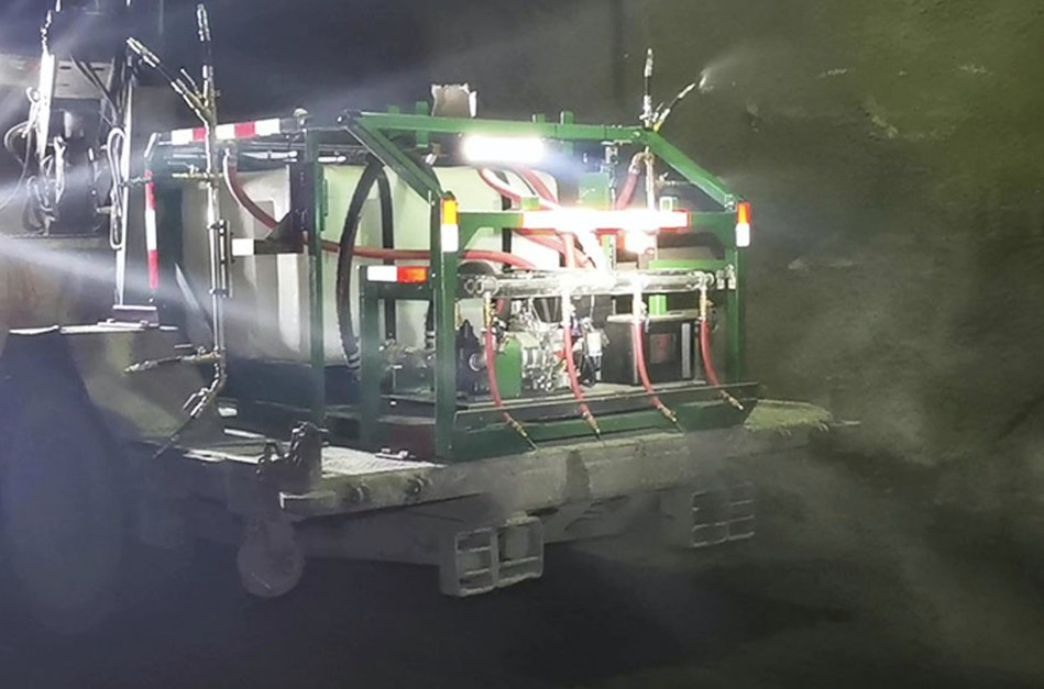 Midwest Industrial Supply's MineKleen® Underground Mine Dust Control System can eradicate up to 95 percent of dust while reducing water usage by up to 95 percent.
