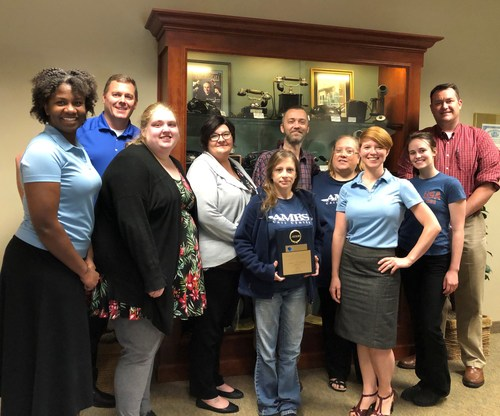 Some of Ambs Call Center's great team in Jackson, Michigan.