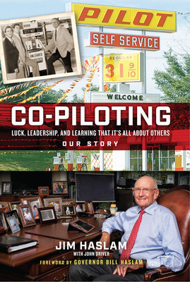 """Pilot Company Founder James """"Jim"""" Haslam II has written a book titled """"Co-Piloting: Luck, Leadership, and Learning That It's All About Others"""" that offers leadership lessons and insights on the history of Pilot Company and the people that helped build it. The book is available on August 25, 2020 at retail and online outlets, including select Pilot and Flying J Travel Centers."""