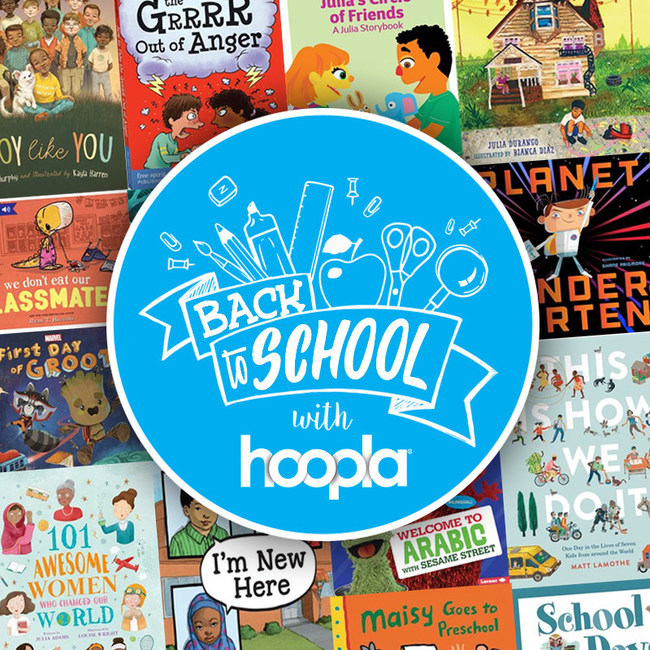hoopla digital designed to support all classroom settings, including in-person, hybrid and remote, with a collection that includes eBooks, audiobooks and videos on STEAM, creativity, language, spelling and other special interests. View the full collection at hoopladigital.com
