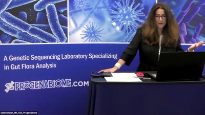 "Dr. Sabine Hazan presented ""The Microbiome and Disease, with a look at COVID-19."" To see her presentation and others, register for the Prelude Rerun (Oct. 14, 2020) and MMM CME Conference (March 20-21, 2021) at www.MalibuMicrobiomeMeeting.com"