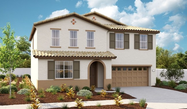 The Tourmaline plan is one of two new model homes at Richmond American's Seasons at Westlake Village community in Stockton, CA.