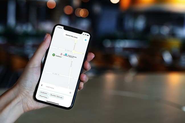 Unlike other mapping apps, Nexit lets you search for an unlimited combination of brands and amenities, and will show all your searches on the map at the same time, so you can have the convenience of knowing where all your preferences are located in close proximity to one another.