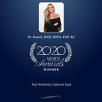 Dr. Kamii, DNP, APRN, FNP-BC wins Top Aesthetic Injector East in the Aesthetic Everything® 2020 Aesthetic and Cosmetic Medicine Awards