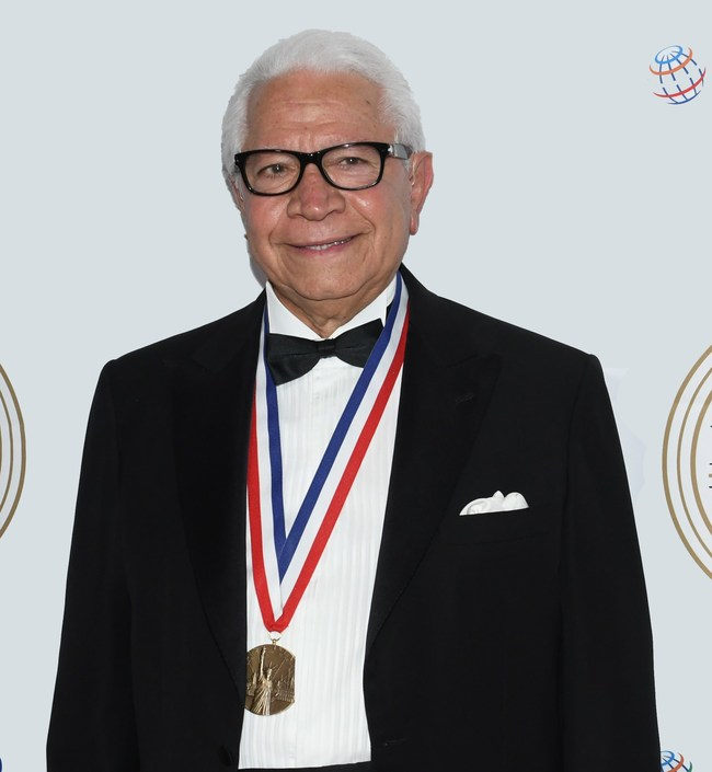 Nasser J. Kazeminy, Chairman of the Ellis Island Honors Society