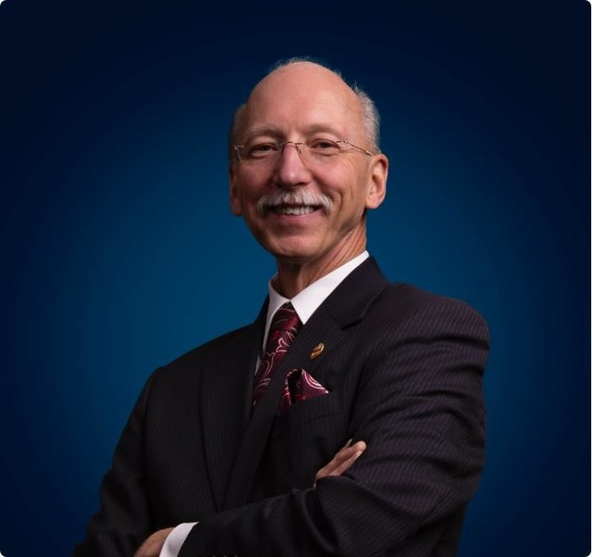 Richard Peck, Toastmasters' 2020-2021 International President