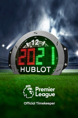 2020-2021 season Premier League 4th Referee Board by Hublot