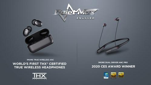 1MORE Unveils QuietMax Tech & 1st THX Certification for True Wireless Headphones