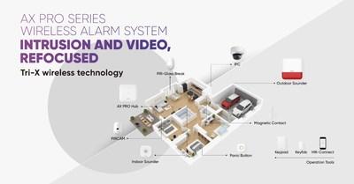 Hikvision AX PRO alarme sem fio (PRNewsfoto/Hikvision Digital Technology Co)