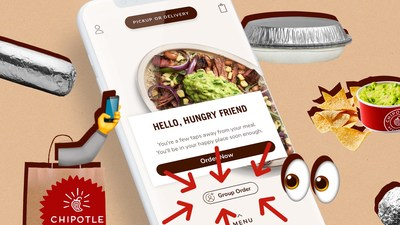 The Group Ordering feature on the Chipotle app makes it easy for families to get exactly what they want in one all-inclusive pick-up or delivery order. Guests can create a group order on the Chipotle app by signing into their Chipotle Rewards account and sending a shareable link to family members where they can customize orders from their mobile phones or computers.