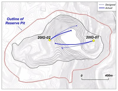 DRILL HOLE LOCATION MAP (CNW Group/Copper Mountain Mining Corporation)