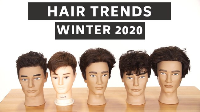 The top 5 hair trends for men.