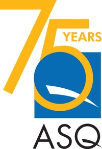 This year marks ASQ's 75th anniversary. (PRNewsfoto/ASQExcellence)