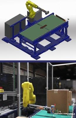 Motion Controls Robotics - Robotic Tape Inspection Station