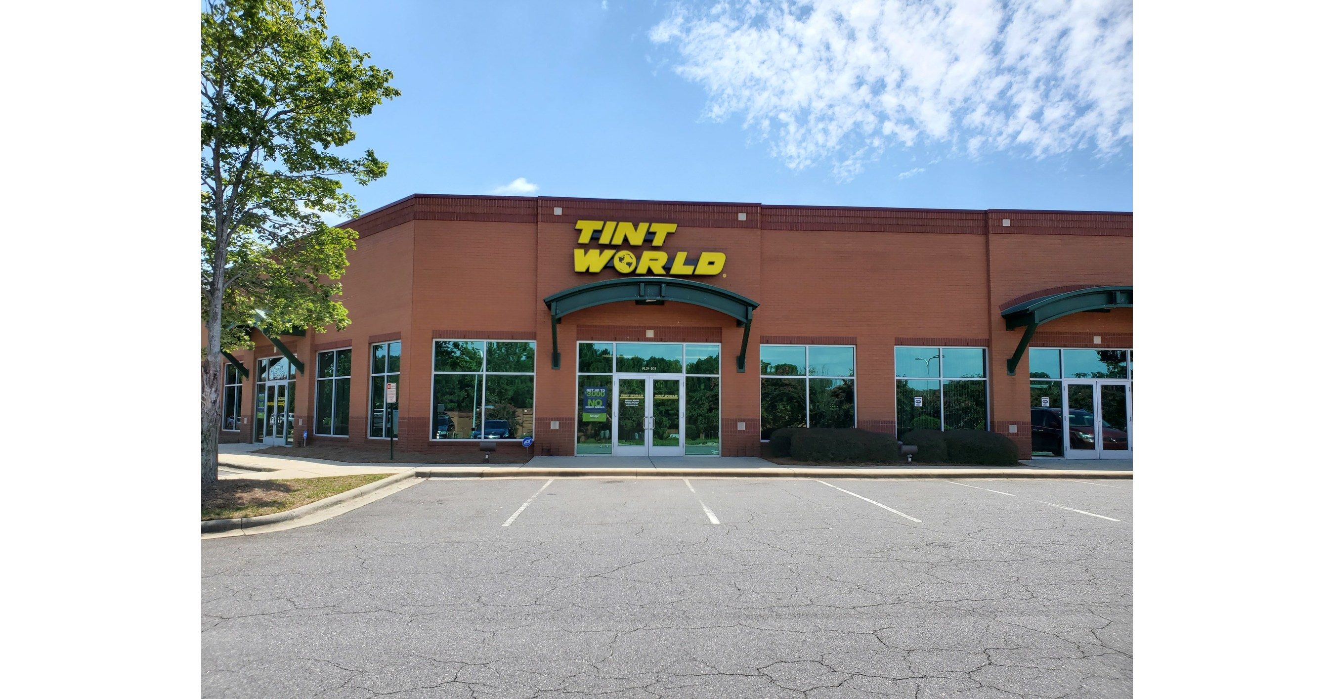 Tint World® continues unprecedented growth with fifth North Carolina location
