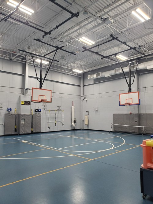 Special LED lights for gyms compliment upgrades to the HVAC systems, new sensors, and monitors to give a more comfortable experience for users and better oversight for the operations staff at the Trumbull, CT, YMCA.