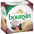 Indulge in New Boursin® Fig & Balsamic Cheese, the Latest Seasonal Flavor