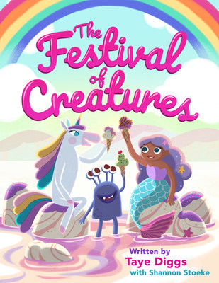 "Actor and children's book author Taye Diggs and creative partner Shannon Stoeke helped Baskin-Robbins create ""The Festival of Creatures,"" an e-book celebrating kindness, inclusion—and, of course, ice cream!"