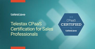 Telestax CPaaS Sales Certification