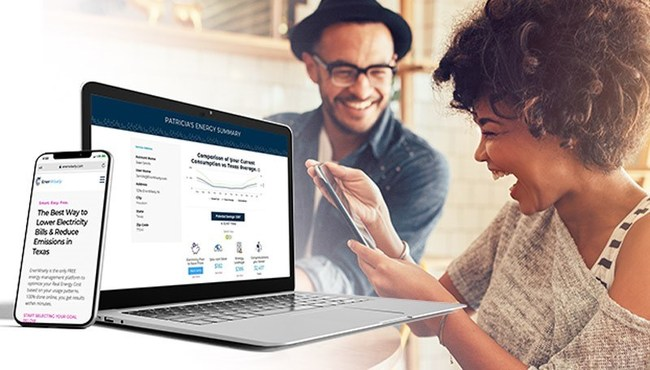 EnerWisely is the best way to lower electricity bills and reduce carbon emissions in Texas. EnerWisely is the one-stop energy management platform to optimize your Real Energy Cost based on your usage patterns. 100% done online, you get results within minutes.