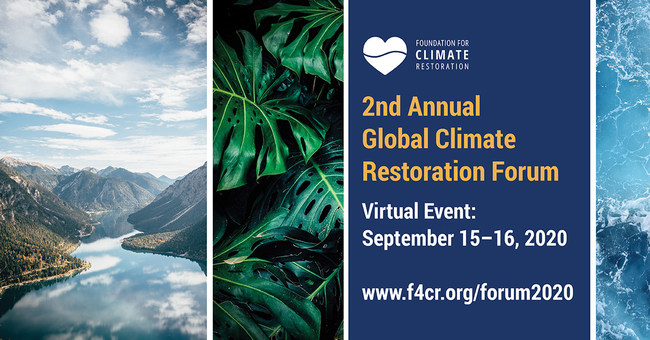 Foundation for Climate Restoration Forum