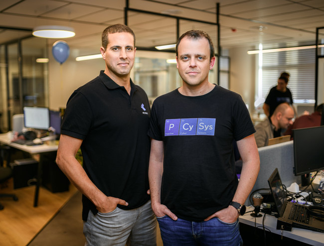 Amitai Razton, CEO and Arik Liberzon, Founder and CTO, Pcysys